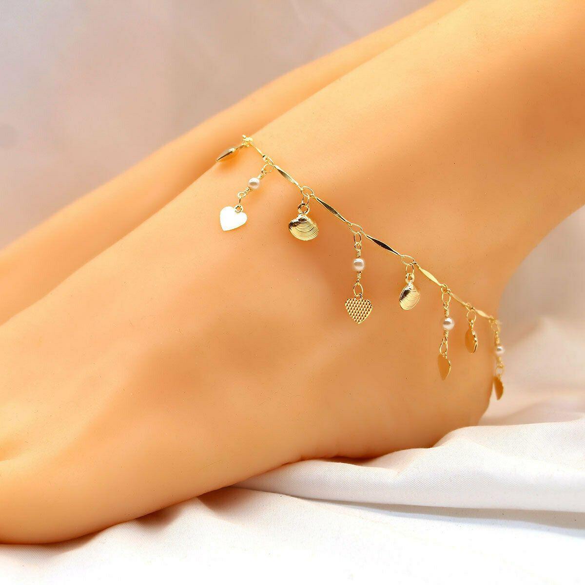 Infinite love gold necklace bracelet or anklet