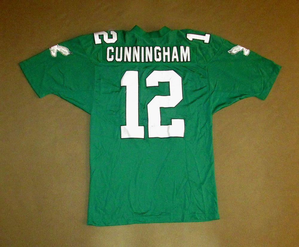 big sale a8c57 04399 Vintage Philadelphia Eagles Jersey Randall Cunningham ...
