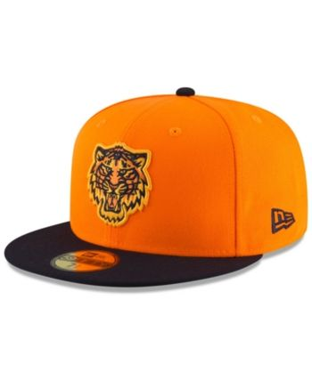 df7cb675941 New Era Detroit Tigers Players Weekend 59FIFTY Fitted Cap - Orange 7 1 8