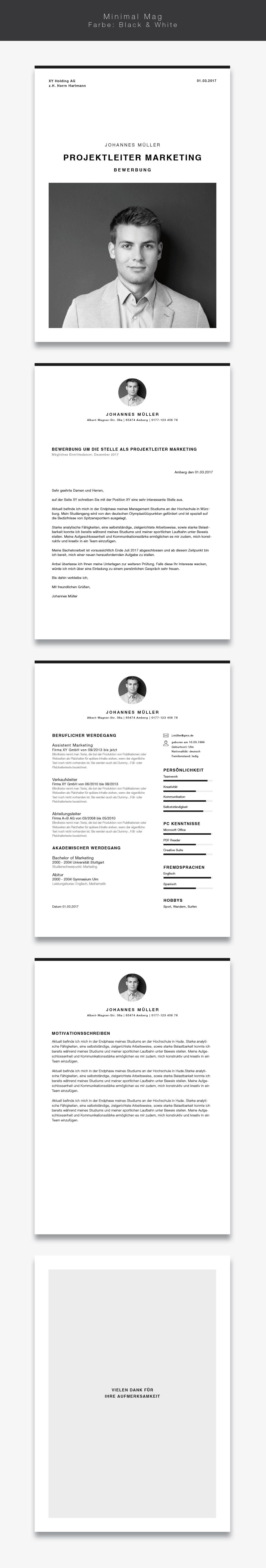 Bewerbungsvorlage Lebenslauf Minimal Mag Lebenslauf Design Kreativer Lebenslauf Lebenslauf