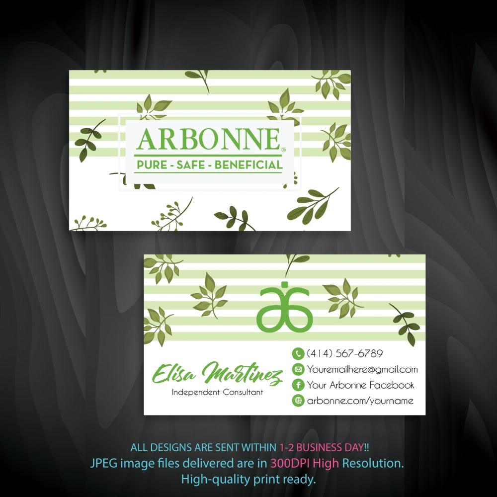 Arbonne Business Cards Personalized Arbonne Cards Ab96 Arbonne Business Cards Arbonne Business Business Cards Watercolor