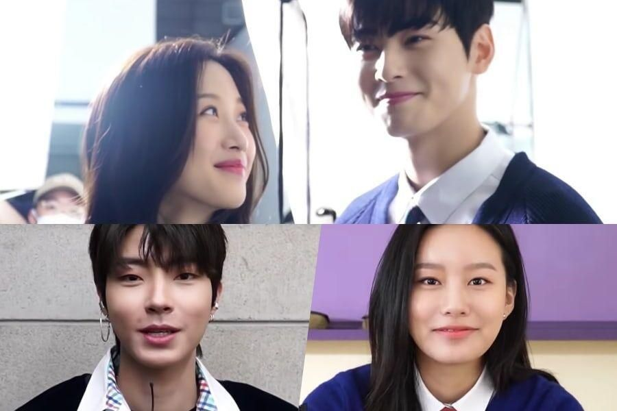 "Watch: Moon Ga Young, ASTRO's Cha Eun Woo, And More Show Chemistry And Pick ""True Beauty"" Key Points"