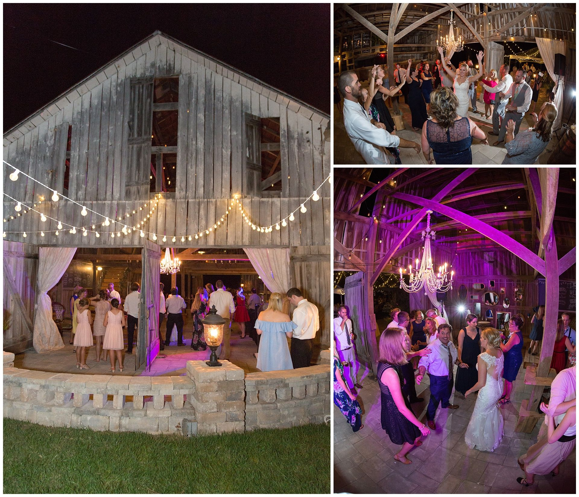 Wedding at the Barn at Springhouse Gardens in ...