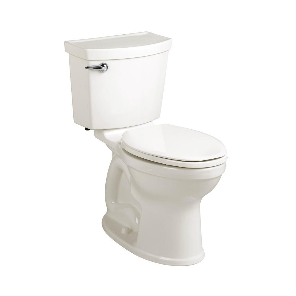 American Standard Champion 4 Max Tall Height 2 Piece 1 28 Gpf Single Flush Round Front Toilet In White With Slow Close Seat 3186 128st 020 The Home Depot American Standard Chair Height Water Sense