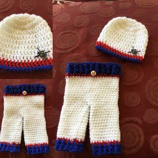 Crochet newborn pants and hat little slugger baseball free crochet newborn pants and hat little slugger baseball free pattern dt1010fo