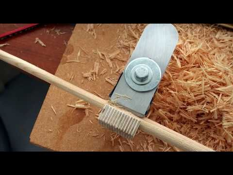 How to Make: an Easy Dowel Cutter in less than 1 hr! - YouTube
