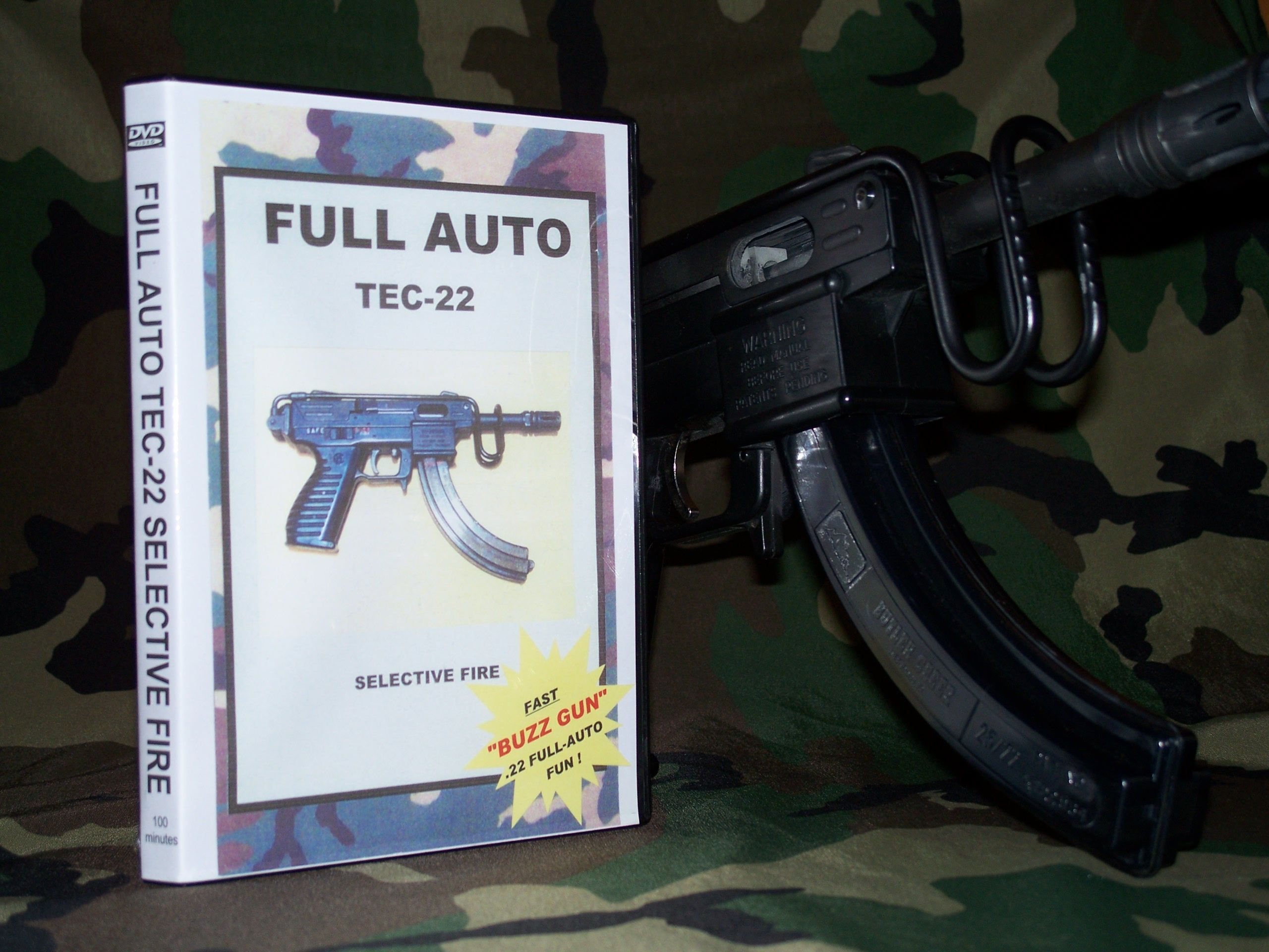 GUN SLINGER VIDEOS products  TEC-22 SEMI-AUTO REPAIR & FULL-AUTO