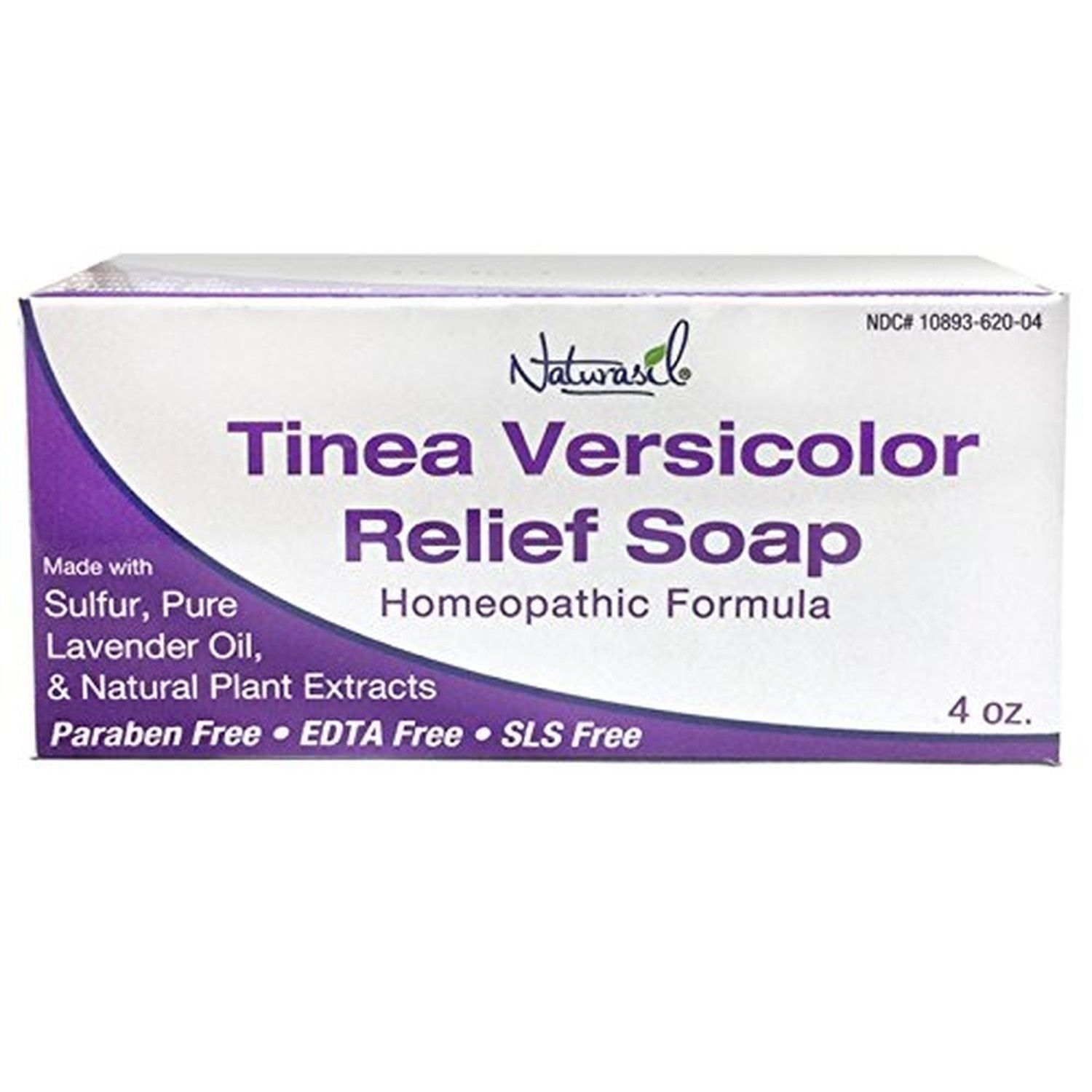 Naturasil Homoeopathic Remedies Soap For Tinea Versicolor 4 Ounce