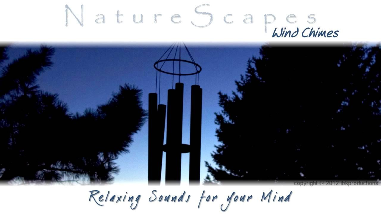 Wind Chimes in a Gentle Breeze    Nature Sounds for Relaxing