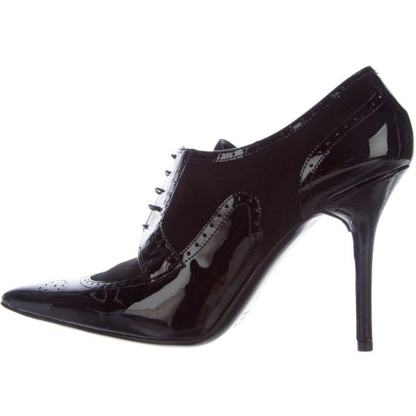 Pre-owned - Patent leather lace ups Valentino E7CPHma