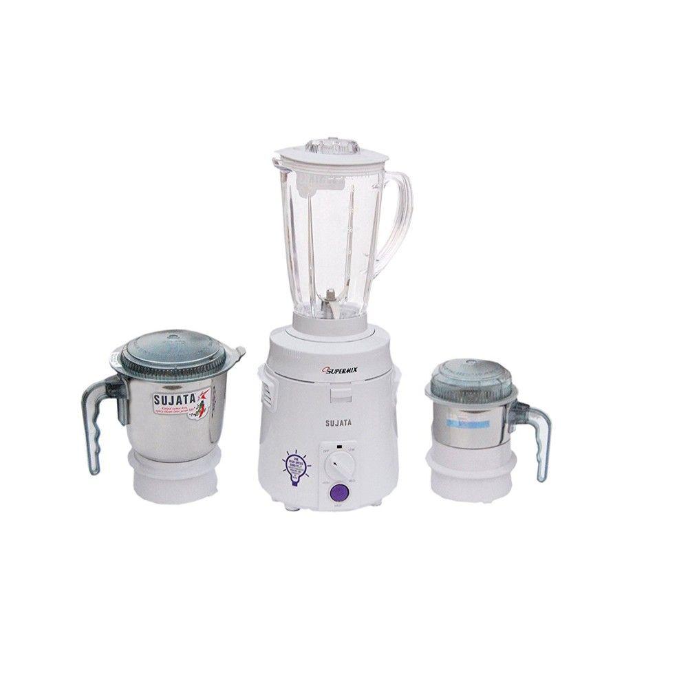 Sujata Supermix 900 W Mixer Grinder White 3 Jars Mobile Fashion Book Jewelry Sugar Bowl Set