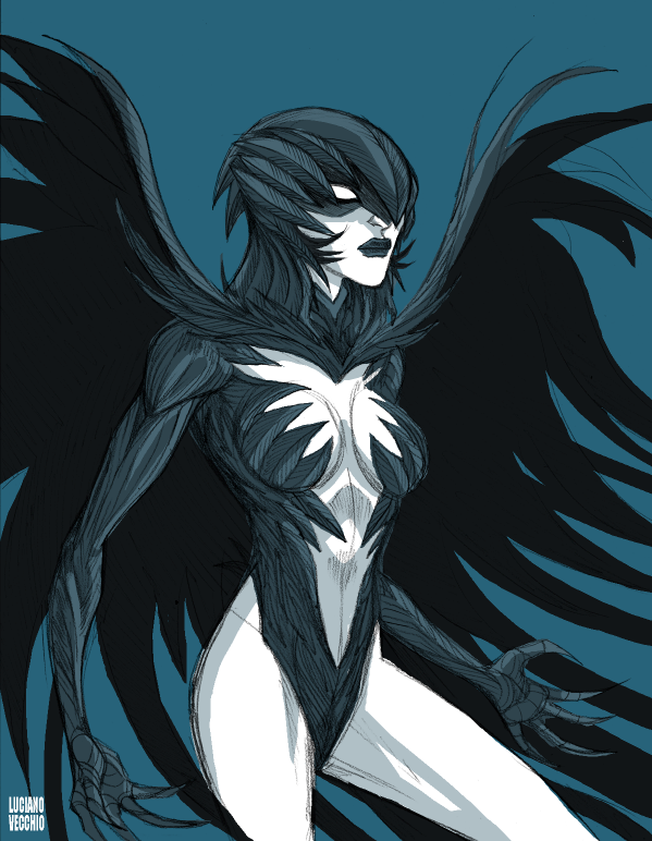 New 52 Raven by LucianoVecchio on DeviantArt