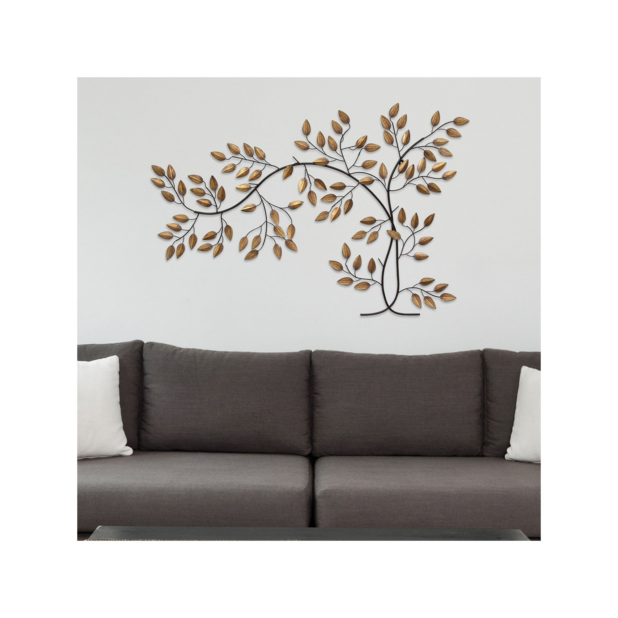 Stratton Home Decor Metal Tree Branch Wall Brown
