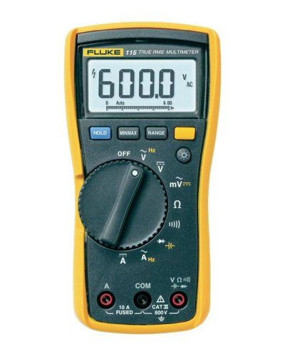 Fluke 115 Compact True Rms Digital Multimeter Listing Price 159 95 Now 131 22 Infrared Thermometer Digital Electrical Tester