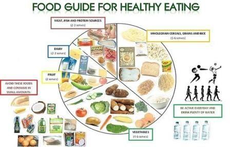 Healthy Eating Chart For Adults - Sample 2 week menus choose myplate
