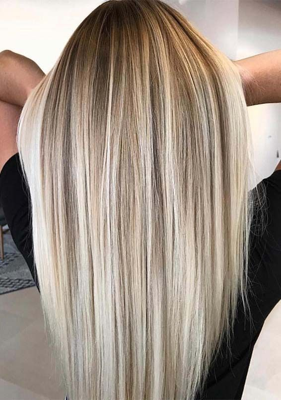 12 Gorgeous Blends Of Balayage Hair Colors in 2019 | Fashionsfield