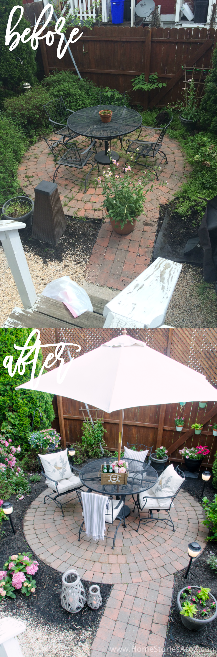 urban backyard makeover with outdoor mosquito repellent lighting