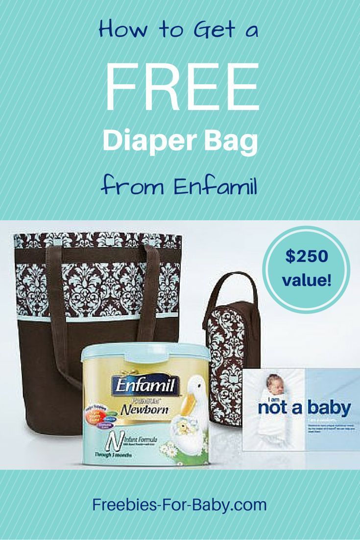 Free Stuff from Enfamil   Value  Free stuff Diaper bag and