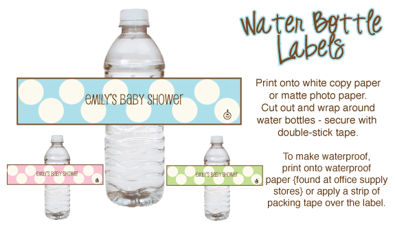 free printables baby shower punch labels recipes for blue shower punch pink shower punch