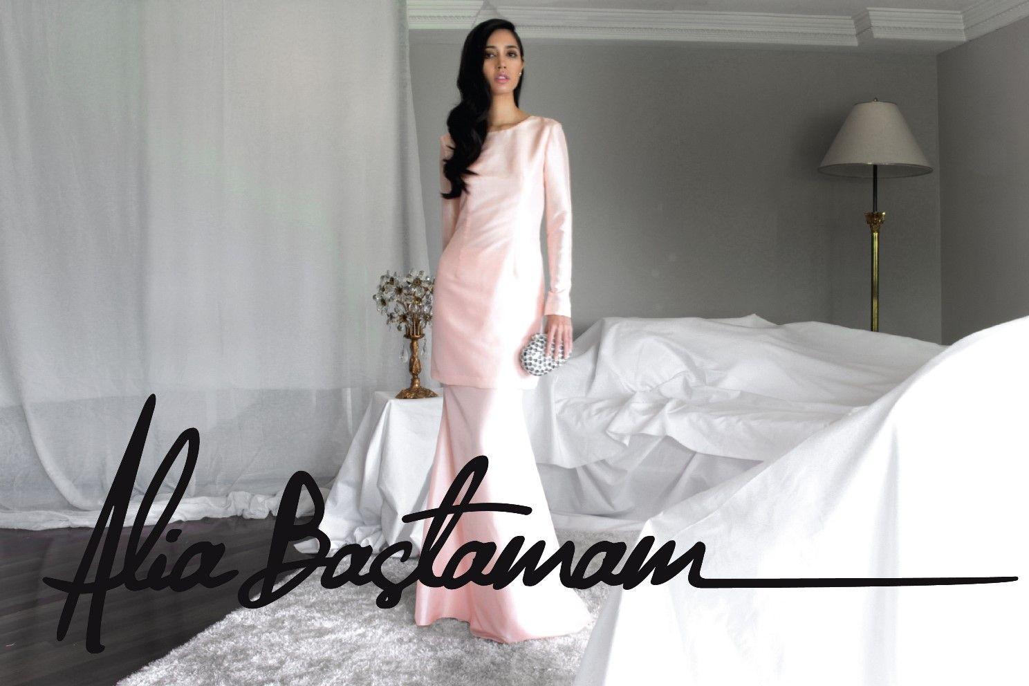 Alia bastamam wedding dress  Raya   Baju cantikk  Pinterest