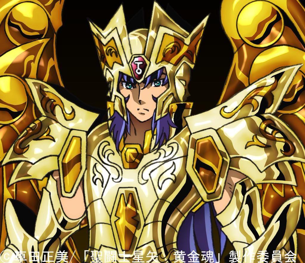 Saga Géminis Soul og Gold Saint Seiya