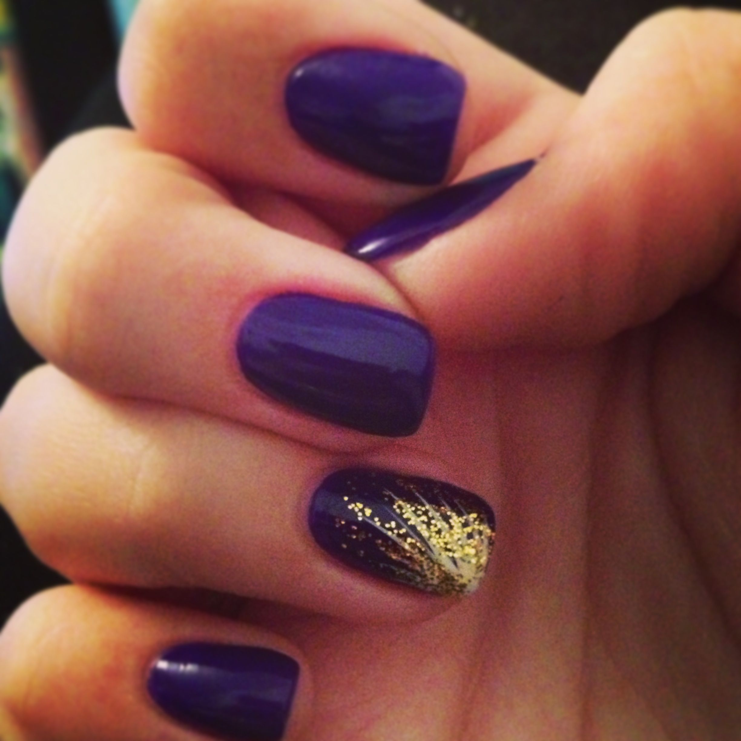 Pin By Volleyball Beauty On Nailed It Purple Nail Art Purple Nails Dark Purple Nails