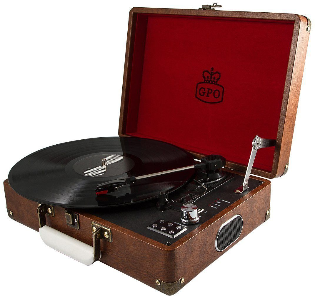 GPO Attache record Player | Best Vinyl Record Players in