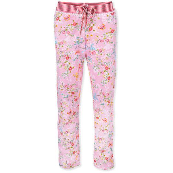Pip Studio Benthe Comfort Chinese Blossom Pyjama Trouser Pink 28 Liked On