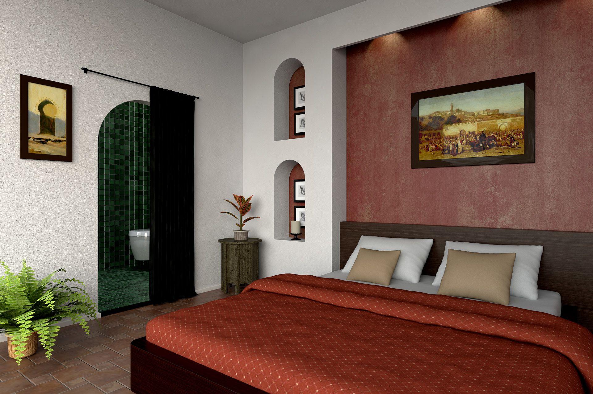 Luxe slaapkamer - Arabische interieur | Pinterest - Luxe slaapkamer ...