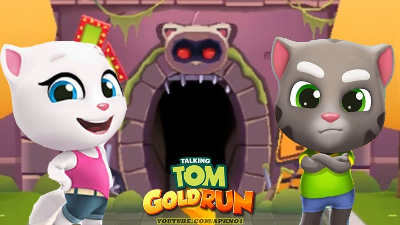 Talking Tom Gold Run Android Gameplay Talking Tom And Talking Angela C Talking Tom Gameplay Subway Surfers