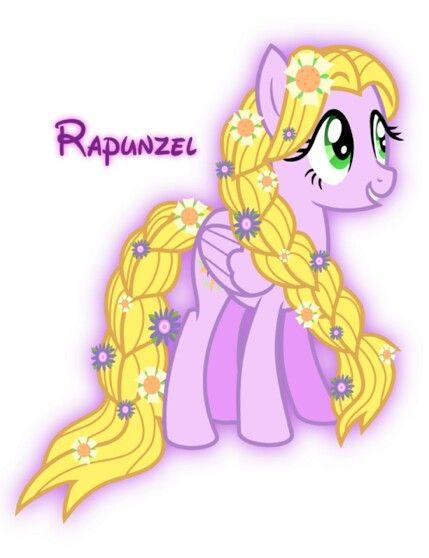 Rapunzel [as My Little Pony] (As My Little Pony by MeganLovesAngryBirds @deviantART) #Tangled