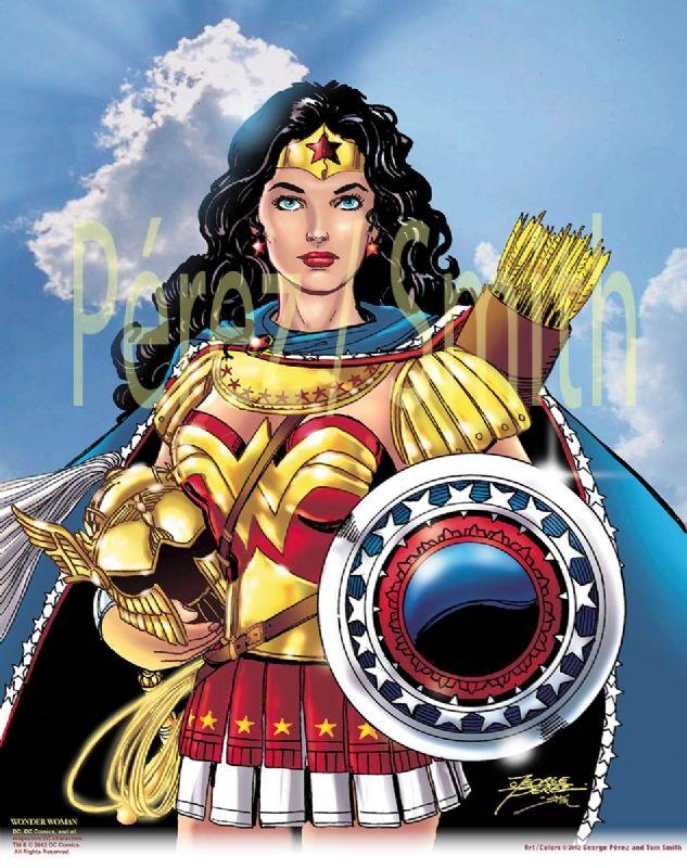 Perez Wonder Woman commission Comic Art