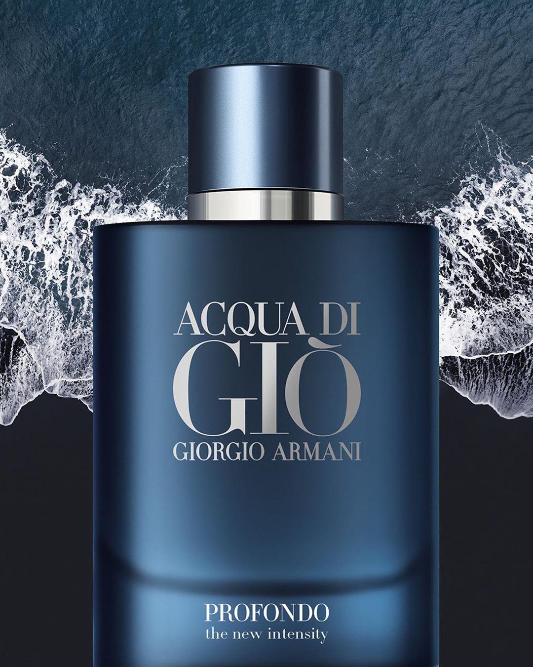 Giorgio Armani Perfume Acqua di Giò Profondo Eau de Parfum - Giorgio Armani  | Perfume, Fragancia para hombre, Perfumes para hombres