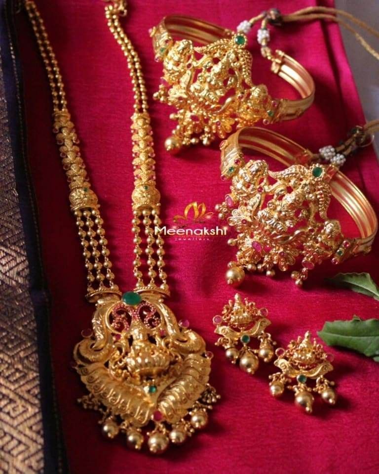 127fa2fb4c Top 10 Brands To Shop 1 Gram Gold Temple Jewellery Online | Jewelry ...