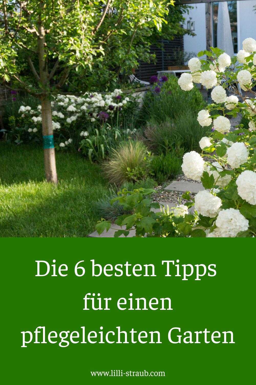 Die 6 besten Tipps für einen pflegeleichten Garten