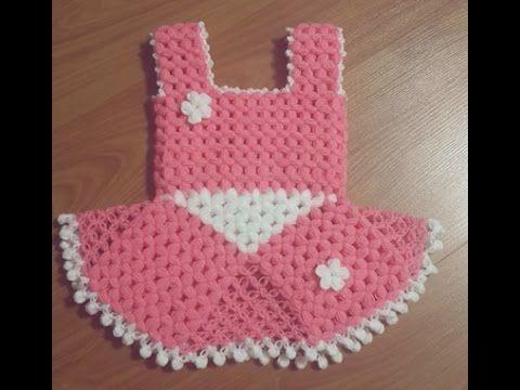 Elbise Lif Yapim Asamasi Youtube Baby Knitting Patterns Orgu Projeleri Bebekler Icin Orgu