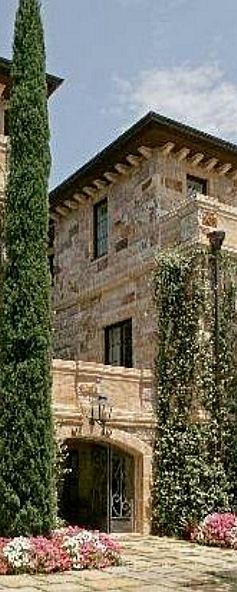 Tuscan tuscan mediterranean homes decors pinterest curb