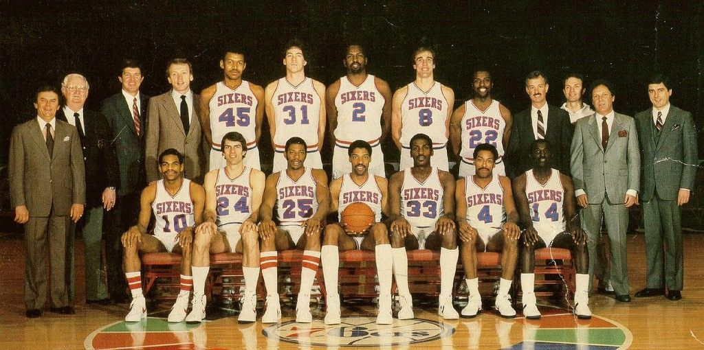 Sixers 1983 NBA World Champs! 76ers, Philadelphia 76ers