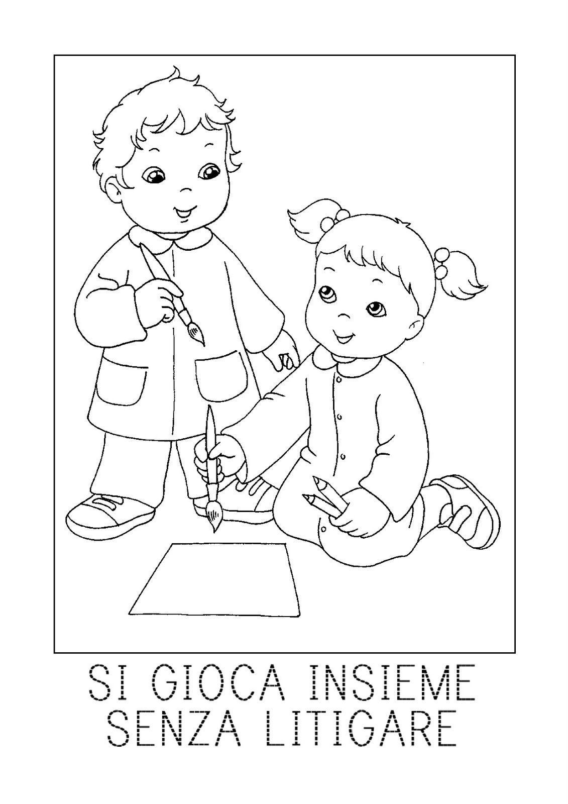 Favorito Schede didattiche per la scuola primaria, giochi, disegni da  XN99