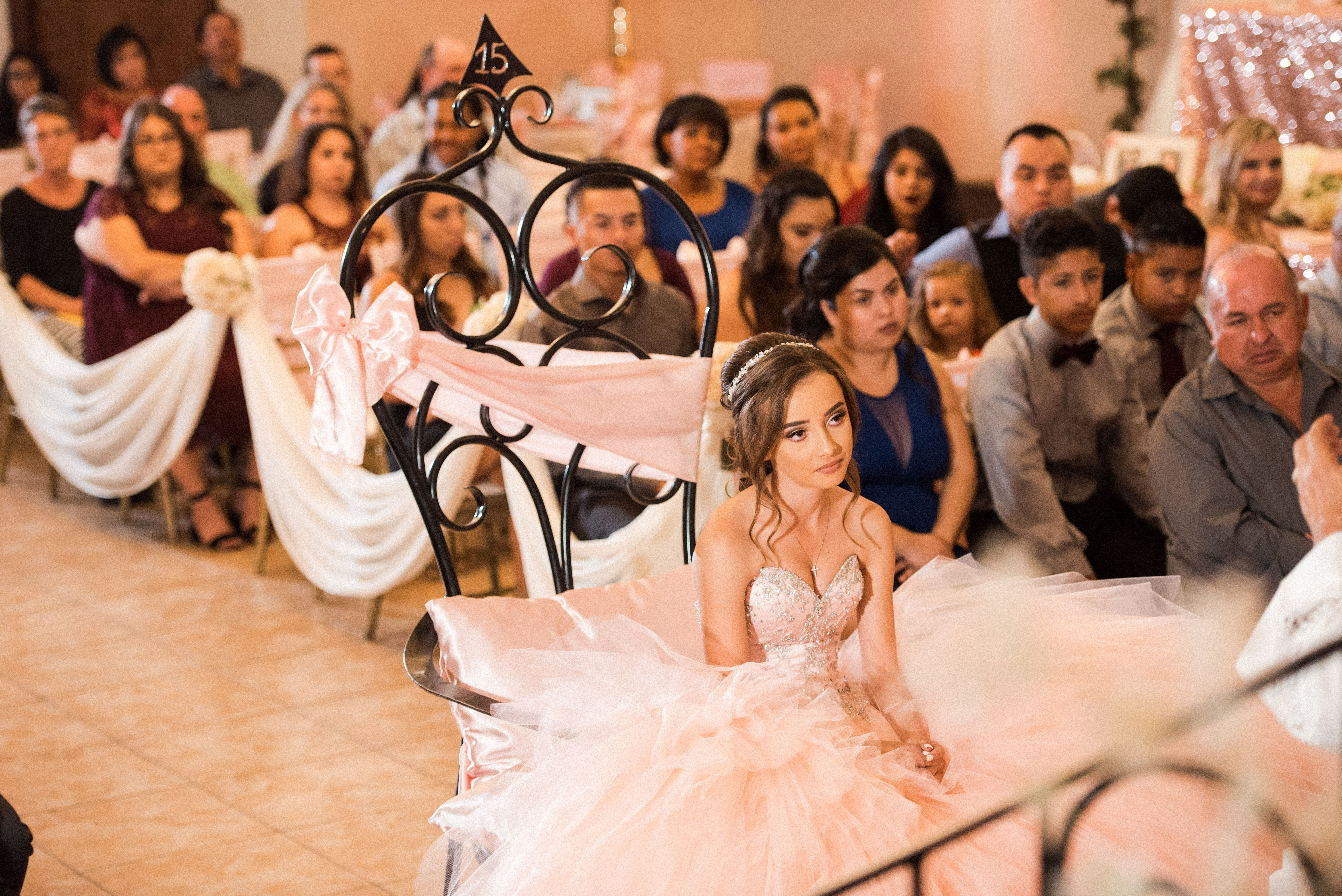 Quince during the ceremony arizona wedding photographers villa
