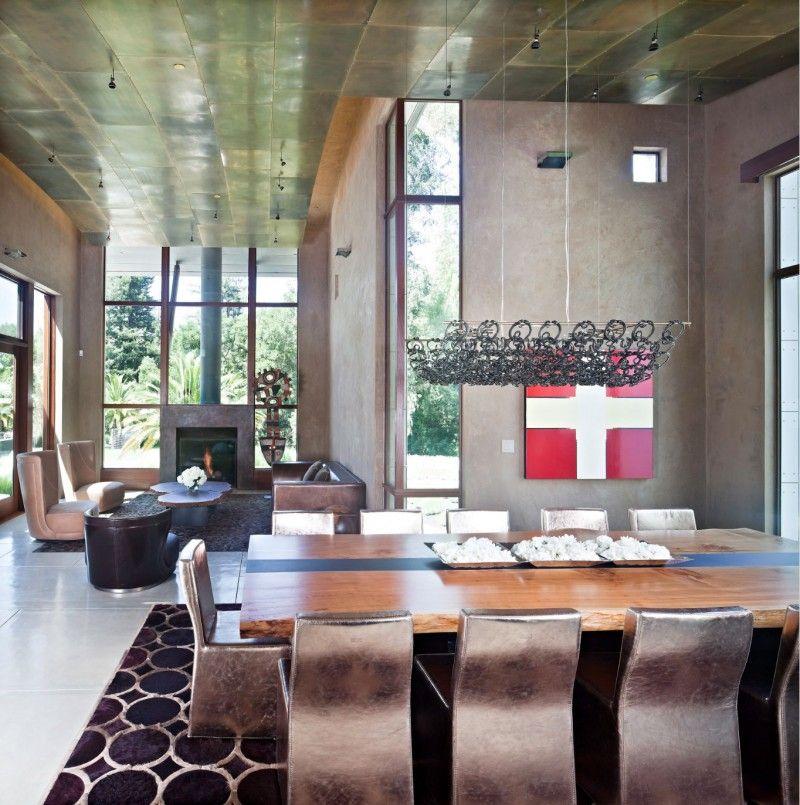 Saratoga Creek House By Wa Design Small Living Room Design
