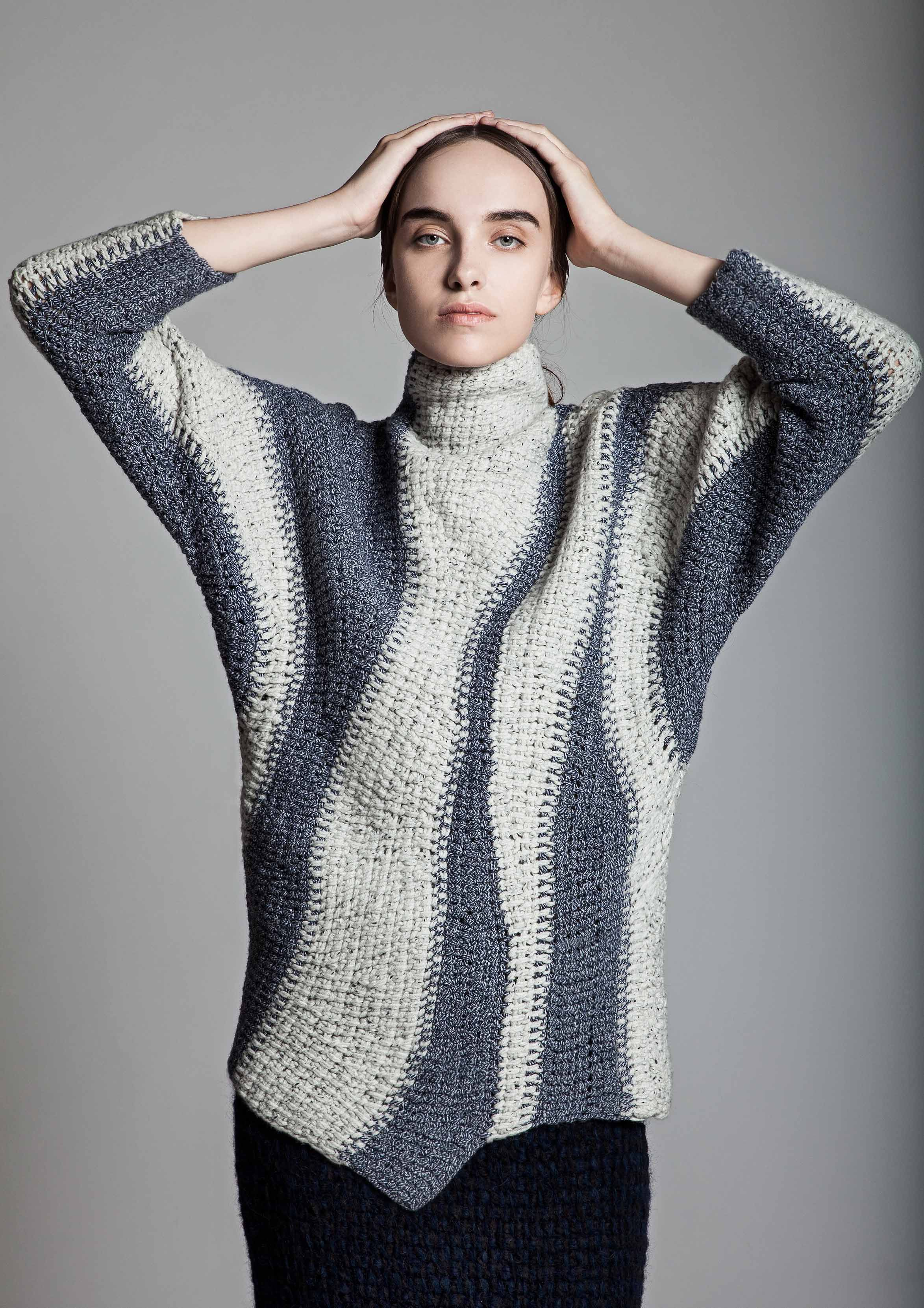 Wow fashion designer uses tunisian crochet sungheebang aw2015 fashion designer uses tunisian crochet sungheebang aw2015 bankloansurffo Images