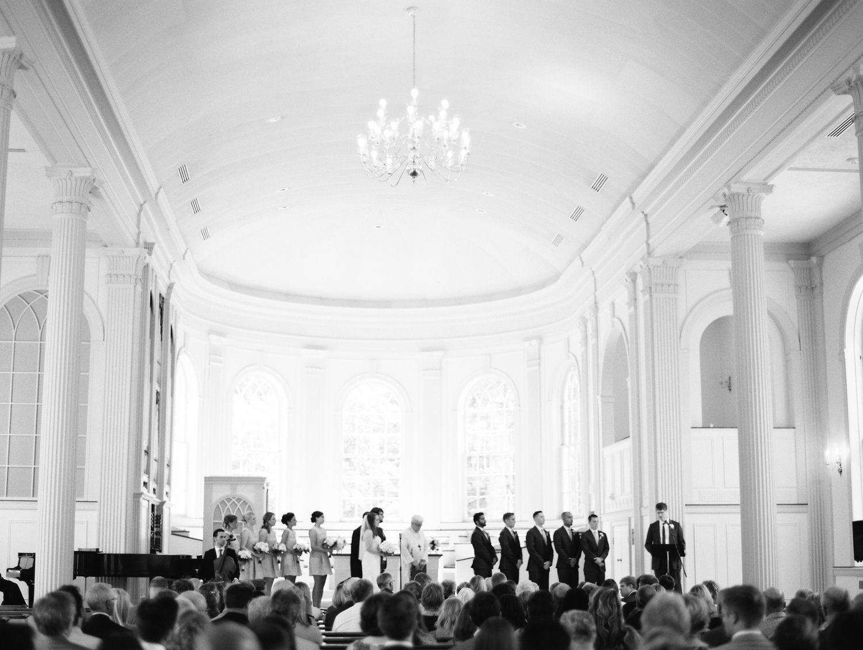 Kalamazoo, MI   Classic Stetson Chapel Wedding   Wedding ...
