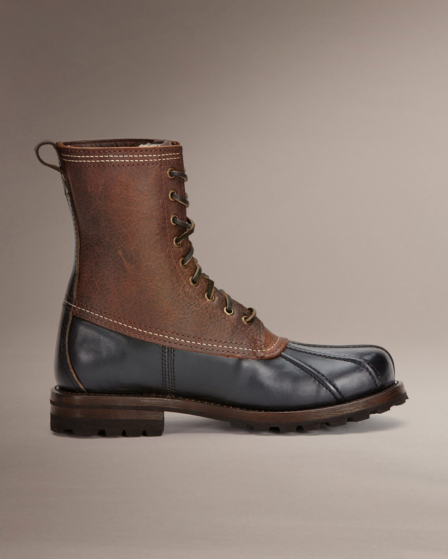Boots, Mens leather boots