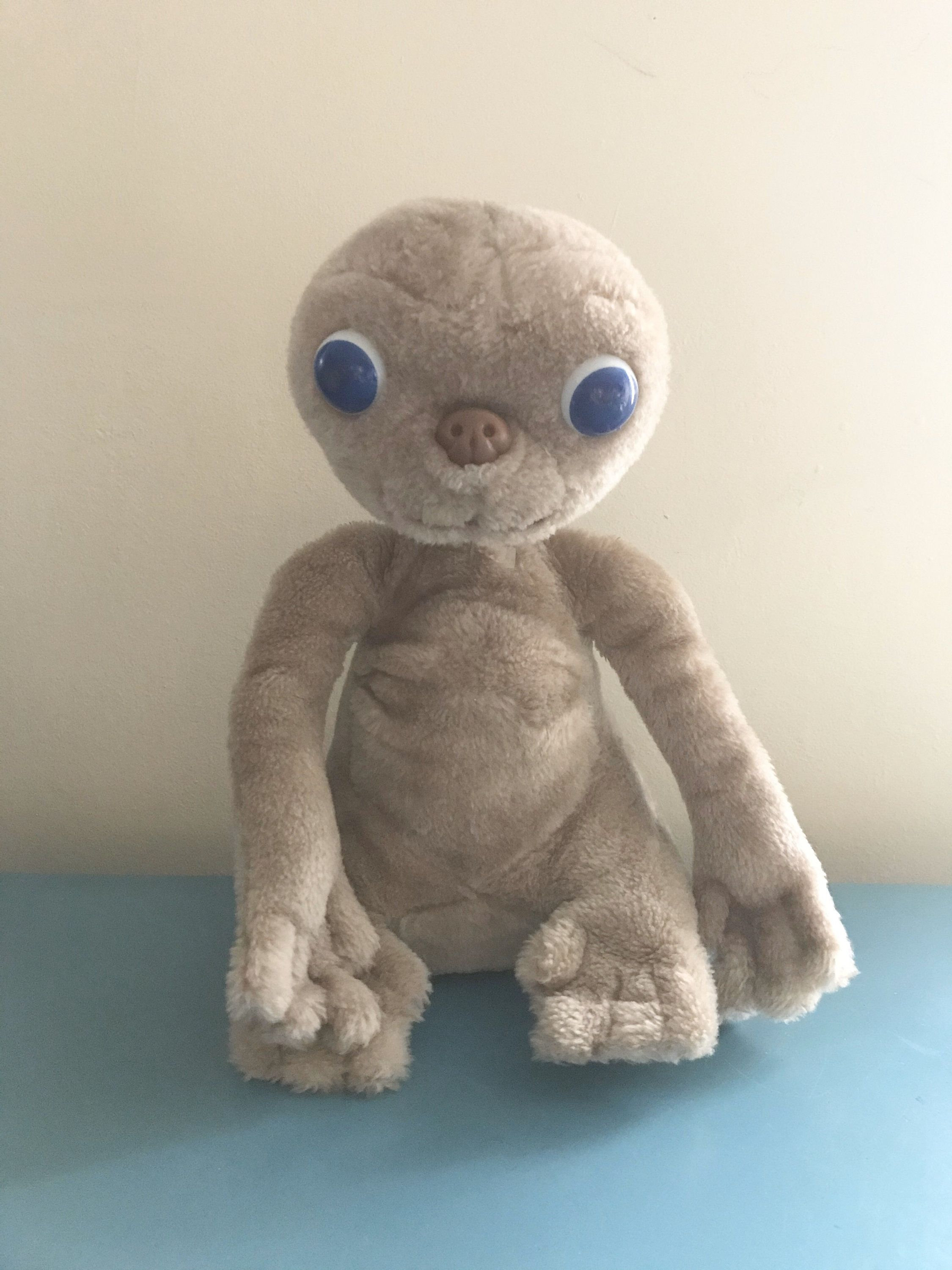 Vintage Et The Extraterrestrial Stuffed Plush Doll 80s Movies Retro Toys Retro Toys 80s Retro Toys Childhood Toys