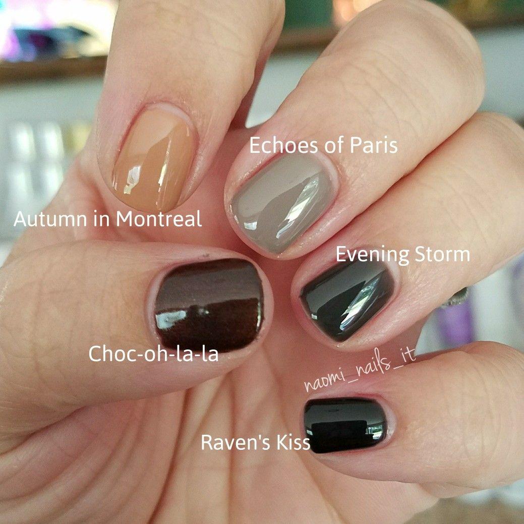 Gelmoment Colors Comparison Gelmoment Choc Oh La La Gelmoment Autumn In Montreal Gelmoment Echoes Of Paris Gelmo Gel Manicure At Home Nails Hair Skin Nails