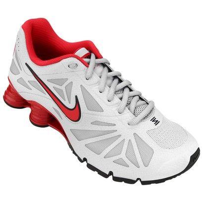 Tênis Nike Shox Turbo 14 - Cinza+Vermelho