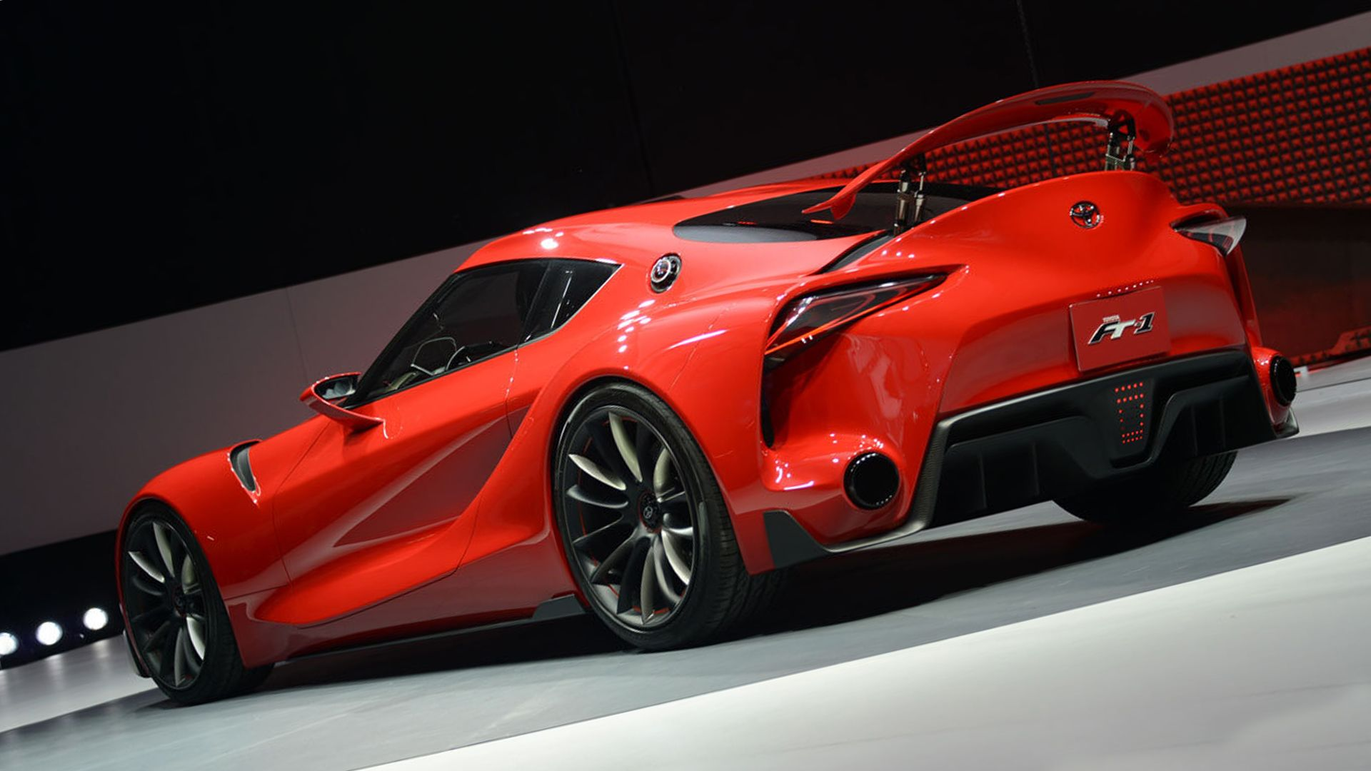 New 2019 Toyota FT 1 Exterior Changes