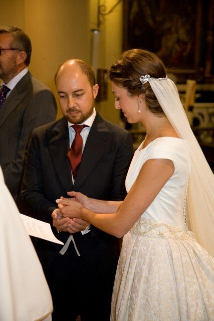 Modista traje novia madrid