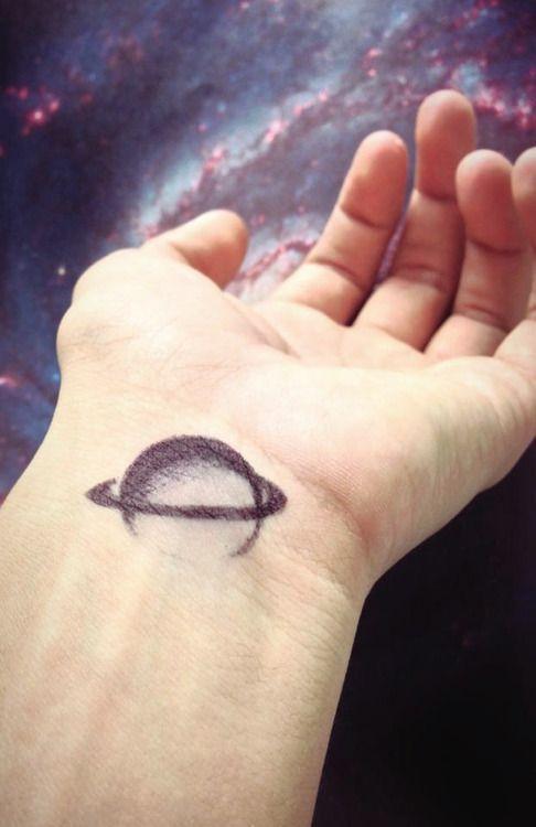 Saturn Pen Drawing Tattoo Inspiration Edgard Saturn Tattoo Cosmos Tattoo Sharpie Tattoos